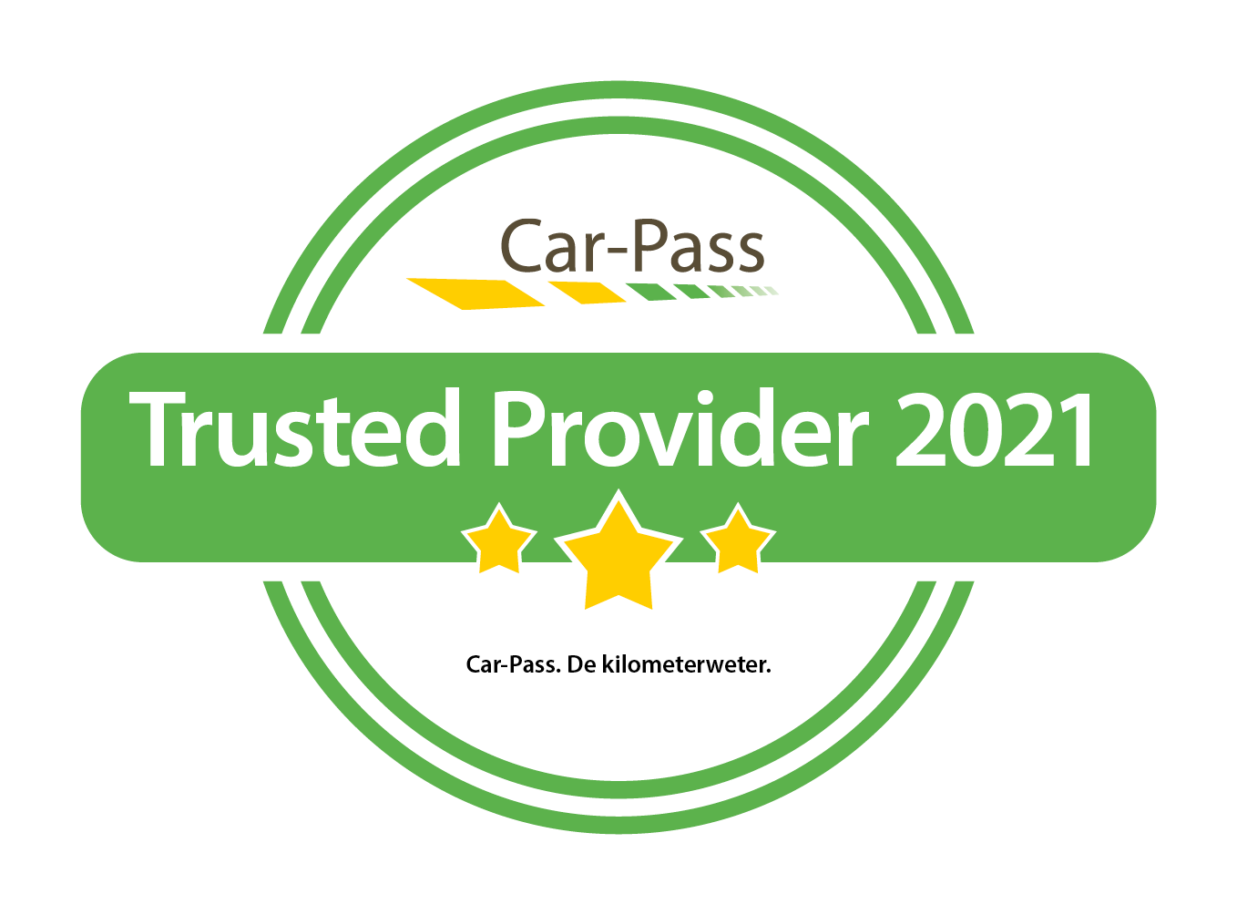 Car pass Trusted provider 2021