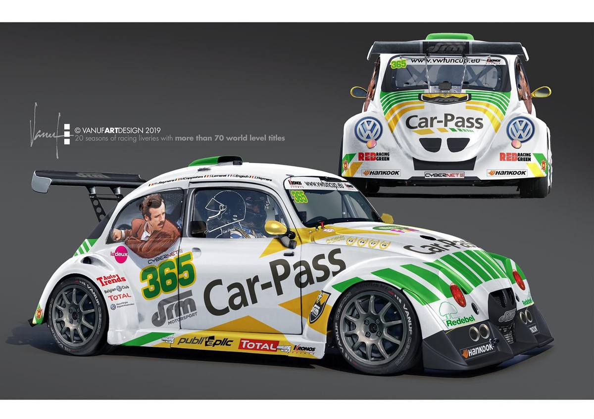 DRM Motorsport ontfermt zich over de VW Fun Cup van Car-Pass in 2019.